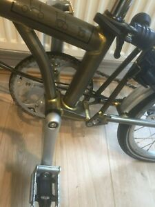 Brompton Clear Lacquer H3L 2014 , great condition. Global shipping.