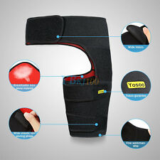 Yosoo Adjustable Groin Support Neoprene Groin Strain Pain Wrap Compression Wrap