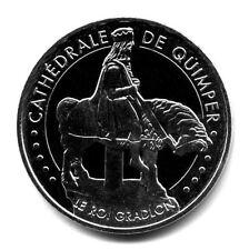 29 QUIMPER Cathédrale 3, Le Roi Gradlon, Couleur argent, 2015, Monnaie de Paris