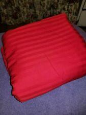 "RedDuvet Cover Queen 86"" x 89"" Stripe Design"