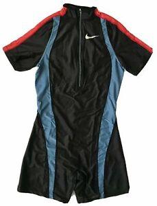 Nike Pro Elite Women's Vintage Track & Field Running Sprint Speed Suit Unitard