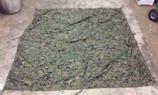 U.S. G.I. Reversible Wet Weather Tarp, Shelter, WOODLAND DIGITAL MARPAT