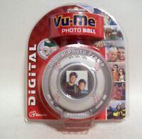 "Digital Baseball Photo Frame - Vu-Me Ball - Stores 70 Photos - Screen Size 1.5"""