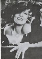 sexy actress  MARLENE DIETRICH 1960s vintage photo postcard rare!
