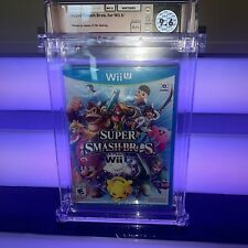 Factory Sealed Super Smash Bros. For Nintendo Wii U Wata 9.6 A++