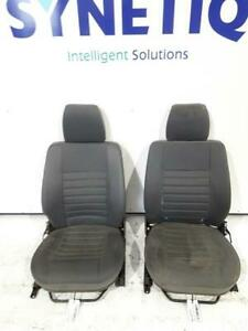 FRONT SEATS LAND ROVER DEFENDER 110 TD5 COUNTY PAIR OF FRONT SEATS & WARRANTY