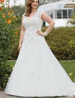 Brautkleid Hochzeitskleid Kleid für mollige Braut Babycat collection 34-56 K04