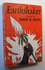 EARTHSHAKER Robert W. Krepps HC/DJ 1st Printing South Africa - 11