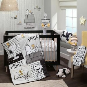 Lambs & Ivy Classic Snoopy Nursery Crib Bedding CHOOSE FROM 4 & 5 Piece Set NEW