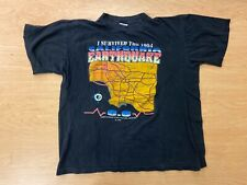 Vintage I Survived The 1994 California Earthquake Shirt Large
