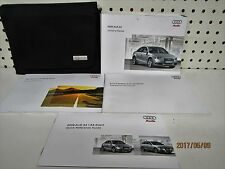 2009 Audi A4 Owners Manual Set FREE SHIPPING