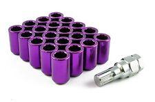 Tuner Écrous de Roue Acier-Violet-M12 x 1,25 Skyline SUBARU