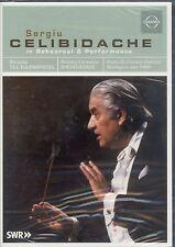 Sergiu Celibidache in Rehearsal Performances DVD NEW Strauss Rimsky-Korsakov