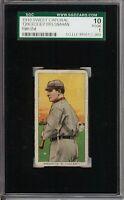 Rare 1909-11 T206 HOF Roger Bresnahan With Bat Sweet Caporal 350 St. Louis SGC 1