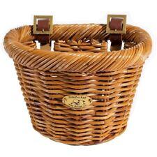 Nantucket Cisco F-Wicker Basket 10X7.5X7.5 D-Shaped