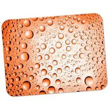 Tappetino per il mouse 53 arancione ACQUA GOCCE Qualità Premium gomma spessa Pad