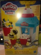 Play-Doh Kitchen Creations Popcorn Party Play Food Set w/ 6 Cans & Accessories