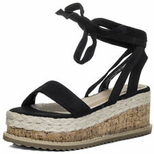 Unbranded Suede Lace Up Sandals for Women