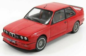 Solido Models BMW 3-Series M3 E30 1990 Red - 1:18