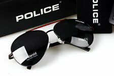 2016 Pure  Men's  Police Sunglasses Driving Glasses Red frame Black lenses