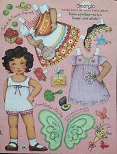 Mary Engelbreit Mag. Paper Doll, Georgia, April/May 2006, Uncut