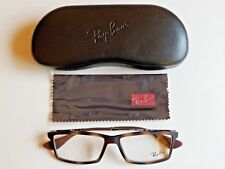 b0f5cc426e8 Brand New Ray Ban Men s Classic Havana Rectangular Prescription Eyeglass  Frames