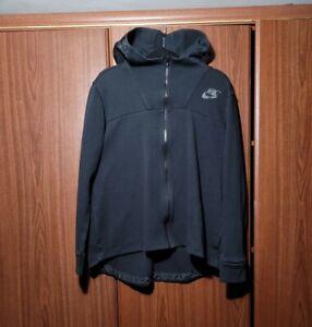 Womens Nike NSW Fleece Zip Up Hoodie Black Size Medium