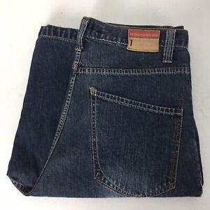 Rocawear Mens Denim Blue Jeans Hip Hop Shorts Urbanwear Street Loose Fit Size 34