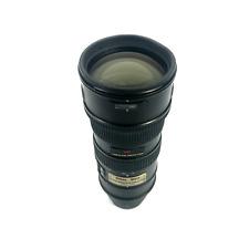 Black Nikon Model Nikkor AF-S 70-200mm f2.8 G ED VR IF Camera Lens #5724