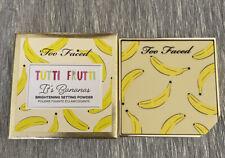100% Authentic Too Faced It's Bananas Brightening Setting Powder Banana Cream