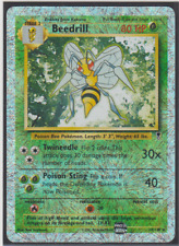 Pokemon Beedrill Legendary Collection 20/110 Reverse Rare Holo Lightly PL Card