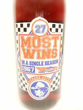 vintage ACL pop SODA bottle - full PEPSI / RICHARD PETTY MOST SEASON  WINS - 27
