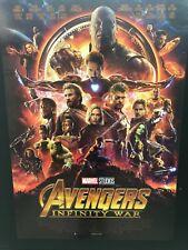 Avengers Infinity War (2018) Poster prima edizione ITA 70x100 NON PIEGATO