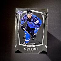 Kaapo Kakko 2019 Panini Prizm Hockey RC Rookie Card SP #P-KF FINLAND/NY RANGERS