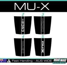 2013-2018 Isuzu MU-X Bonnet stripes decals stickers  decal sticker MUX
