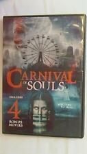 Carnival of Souls Includes 4 Bonus Movies The Bat White Zombie Used DVD RARE