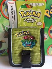 Game Boy Advance SP Carrying case Leaf Green Version Venusaur            (plush)