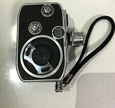 WORKING Vintage Paillard Bolex C8 Movie Camera, Lytar 8mm f 1:2.5 Lens