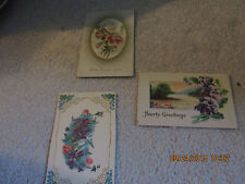 VINTAGE HOLIDAY  POST CARDS