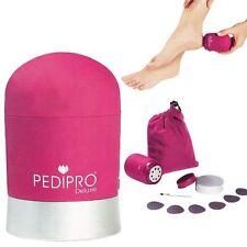 PediPro DELUXE Pediküre Pedi Pro Fuß Feile Trocken Harte Haut Entferner Kit Xmas Geschenk