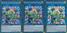 YUGIOH 3 X WIND-UP ZENMAINTENANCE FLOD-EN049 - SUPER RARE -