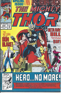 Mighty Thor #442 (Jan 92) - the Return of Dr Don Blake - Sif & Beta Ray Bill
