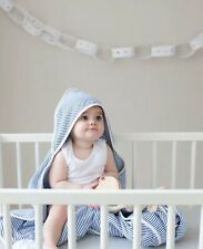 Wholesale joblot baby organic cotton hooded muslin blankets 9 layers thick X 10