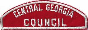 Central Georgia Council WHT Bdr. [MX-7988]