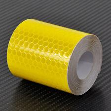 20m x 50mm Truck Lorry Trailer HGV Yellow Reflective Tape Sticker Decal Vinyl