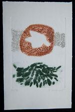 James Coignard Litho carborundum signée main numérotée / 30 - carte voeux ?