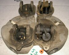 1953-59 AJS Matchless G11 G12 pair cylinder heads W