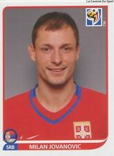 N°312 MILAN JOVANOVIC # SERBIA STICKER PANINI WORLD CUP SOUTH AFRICA 2010
