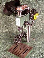 TINY MINI HOBBY BENCH DRILL PRESS 3 speed Variable with Vise Mounting Slots NEW
