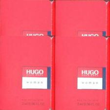 HUGO BOSS HUGO WOMAN 4 x 2ml EAU DE TOILETTE SAMPLE VIALS NEW